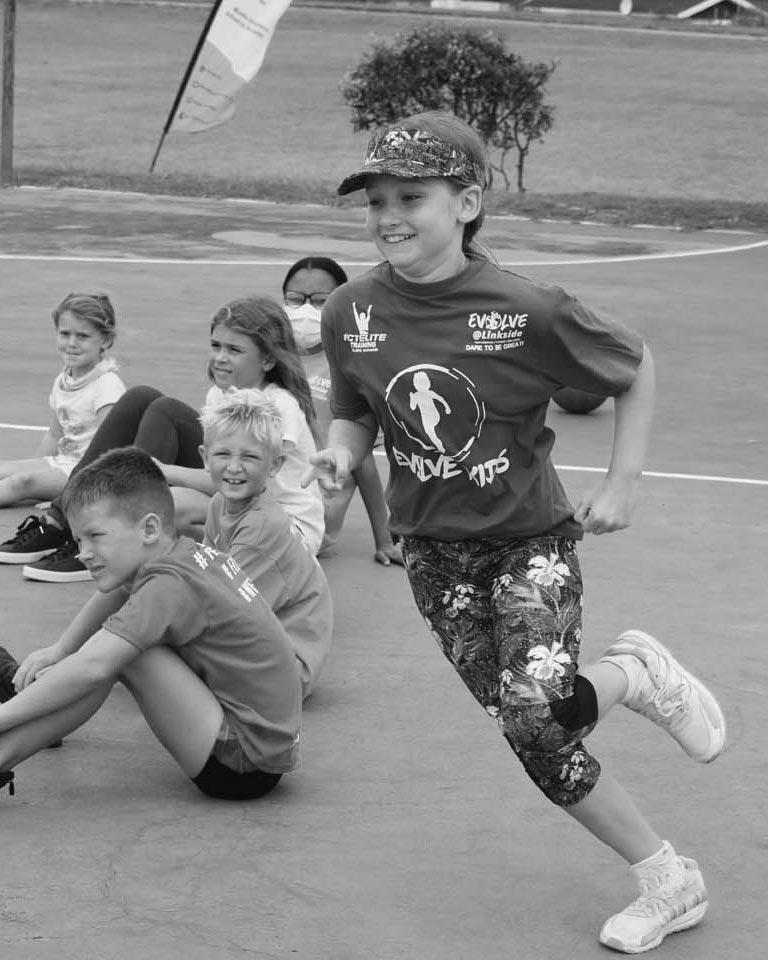 evolve kids running